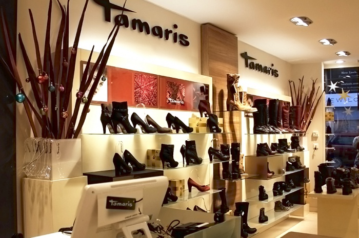 le magasin de chaussures tamaris paris. Black Bedroom Furniture Sets. Home Design Ideas